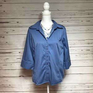 🌹Just in - George women's plus button down, 16W
